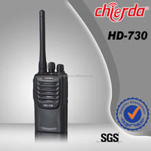 Professional two way radio repeater for security with urgent alert function (HD-730)