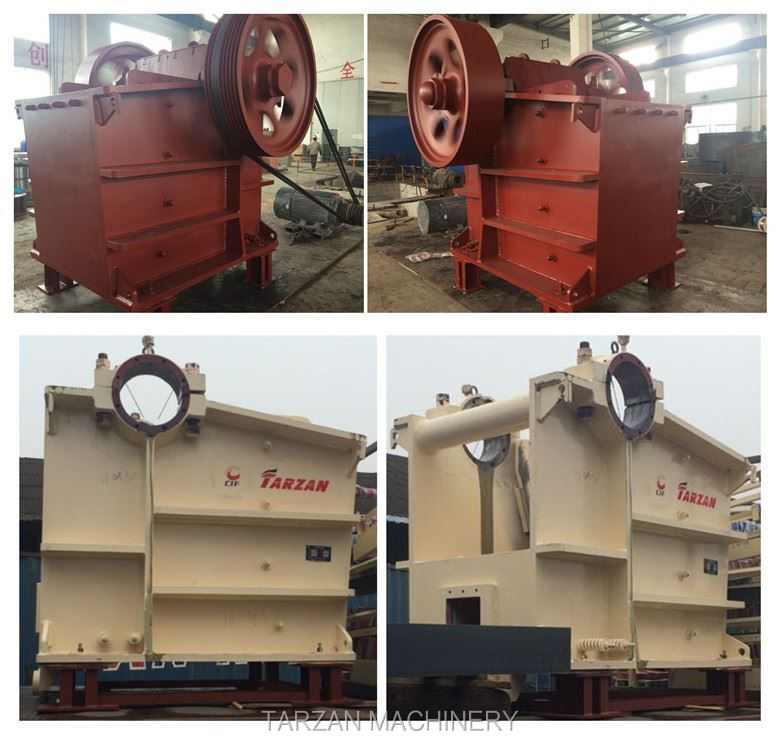 Newly Casting Steel Jaw Crusher 100 Tph Stone Jaw Crusher Plant ...
