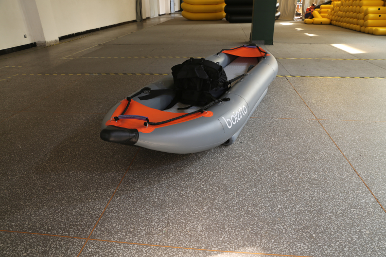 All round inflatable kayak boat used for fresh water and for Used fishing kayak sale