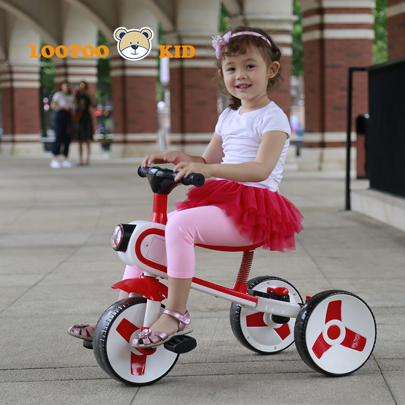 Hot selling 4 in 1 new model large baby tricycle rotary seat / baby tricycle children bicycle supplier