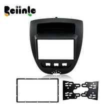 2 Din DVD GPS Frame Kit Refitting Frame for Peugeot 107 / Citron C1 / Toyota AYGO