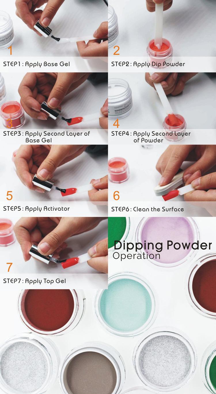 2018 Newest Nail Art Raw Material Organic Nails Acrylic Powder,Dip ...