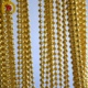 interior decoration gold beaded curtain