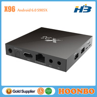 2016 Top Quality Best Price X96 X96 Amlogic S905X Android TV Box Watch Live TV On Your Pc