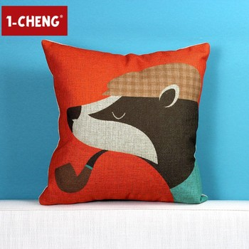 Creative Funny Fox Figure Cushion Cover Body Pillow Case Chair Seat Gorgeous Funny Body Pillow Covers