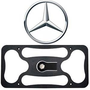 No Drilling Installs in Seconds Made in USA CravenSpeed The Platypus License Plate Mount for Nissan Rogue Made of Stainless Steel /& Aluminum 2014-2019