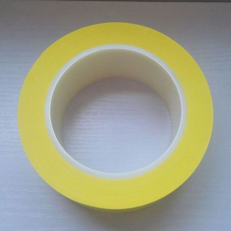 Heavy Duty Plastic Core Vinyl Yellow Line Safety Marking and Dance Floor Splicing Tape
