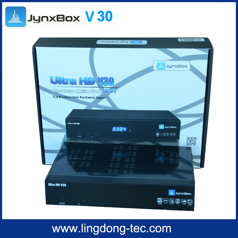 2016 Jynxbox ultra hd v2 jb200 8psk module satellite receiver for North America