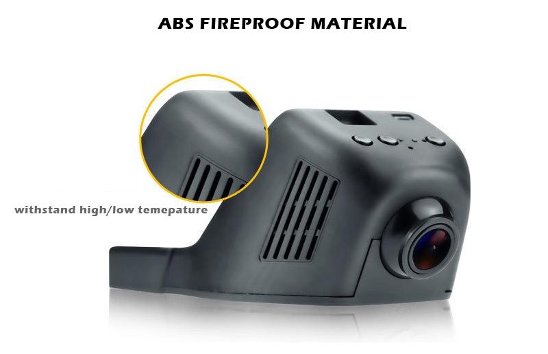 ROGA L1 WIFI Dash Cam Hidden DVR with NTK99655 SONY Sensor support Max 64GB TF Micro WIFI Cam Invisible WIFI Car Black Box WDR