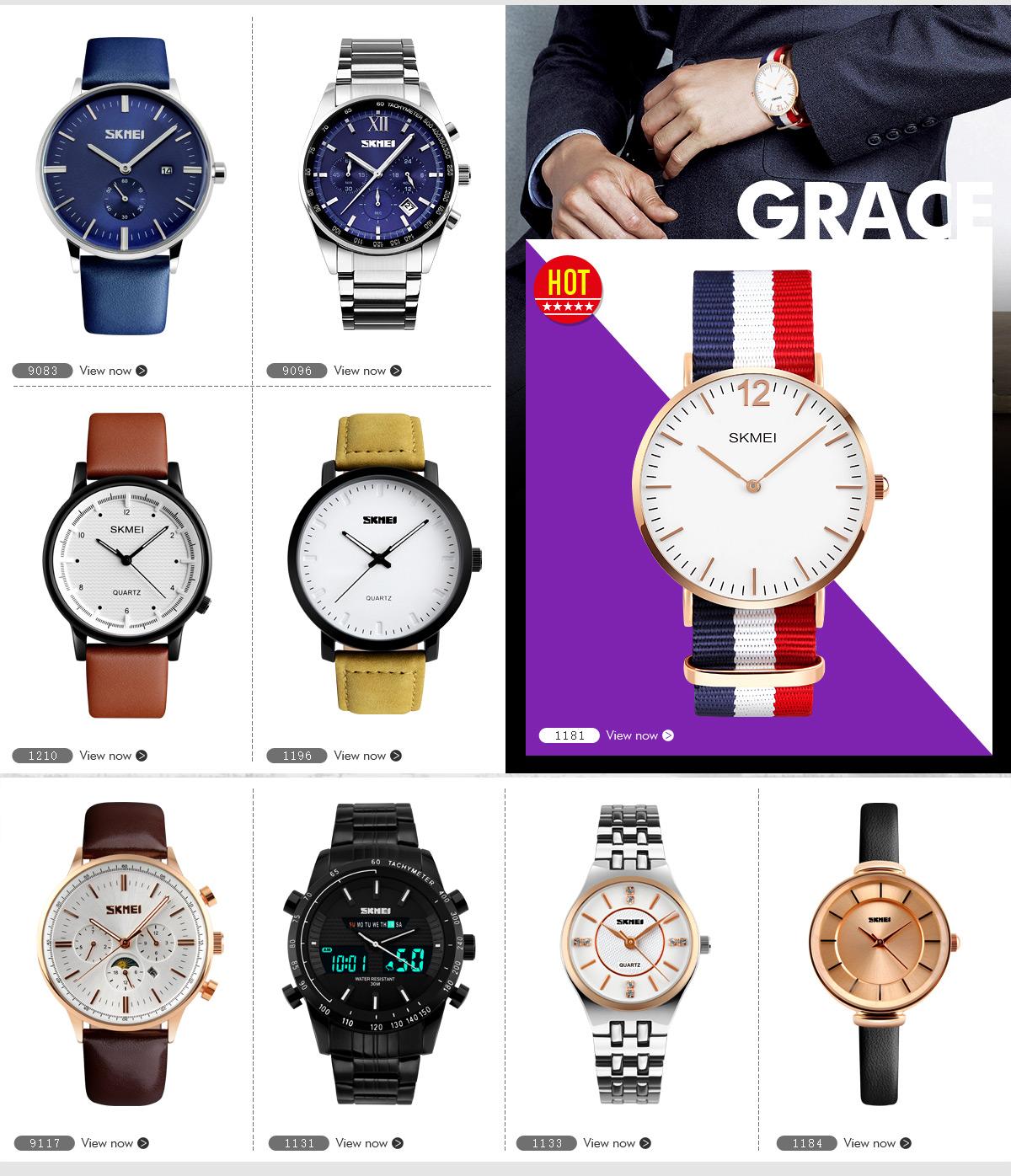 Guangzhou Skmei Watch Co Ltd Wristwatches Digital Jam Tangan Pria 9106 Original Water Resistant Black Red Henry Chen
