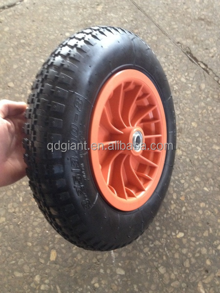 13inch inflatable tire for wheelbarrow / hand truck