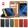 Factory Wholesale Flip Wallet New Arrive Retro Leather Phone Case for Samsung Galaxy S7 Plus S6 Edge S5 S4