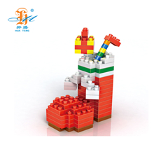 Best mini christmas santa micro claus figures kids blocks building for gift