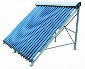 Concentrated Vacuum Tube Solar Collector Glass Evacuated