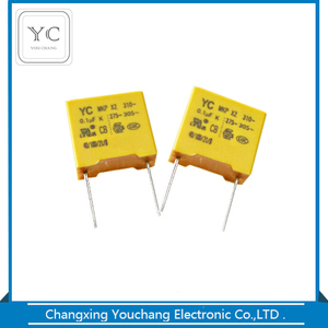 Metallized polypropylene mkp film capacitor x2 104k 275v