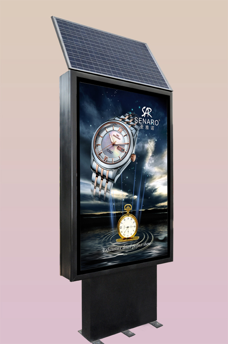 Advertising Equipment Solar Power Outdoor Advertising