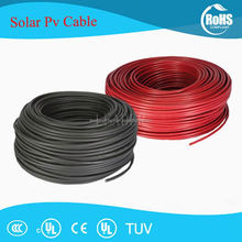 TUV DC 2.5mm/4mm/6mm/10mm Solar PV Cable Wire for Photovoltaic Power System