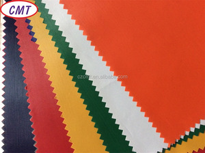 cheap waterproof polyester PVC coated 170T/190T fabric for raincoat of Changzhou Cement