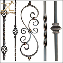 <span class=keywords><strong>Goedkope</strong></span> trap <span class=keywords><strong>leuning</strong></span> smeedijzeren balusters decoratieve trap reling baluster spindels