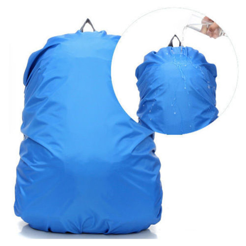 Nylon Rain Cover Bag Waterproof Backpack Dust Covers Bag For Travel Camping Hiking Cycling Outdoor Travel Kits Suit Tools 45-50L
