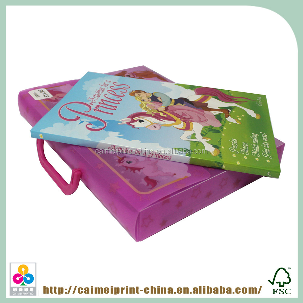 Wholesale china market children softcover bookprinting