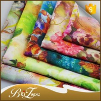 Hot Sale African Printing Design Elegant Digital Printing Polyester Chiffon Fabric For Clothing