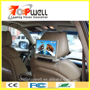 9 inch pioneer car dvd headrest with mp3 mp4 mp5