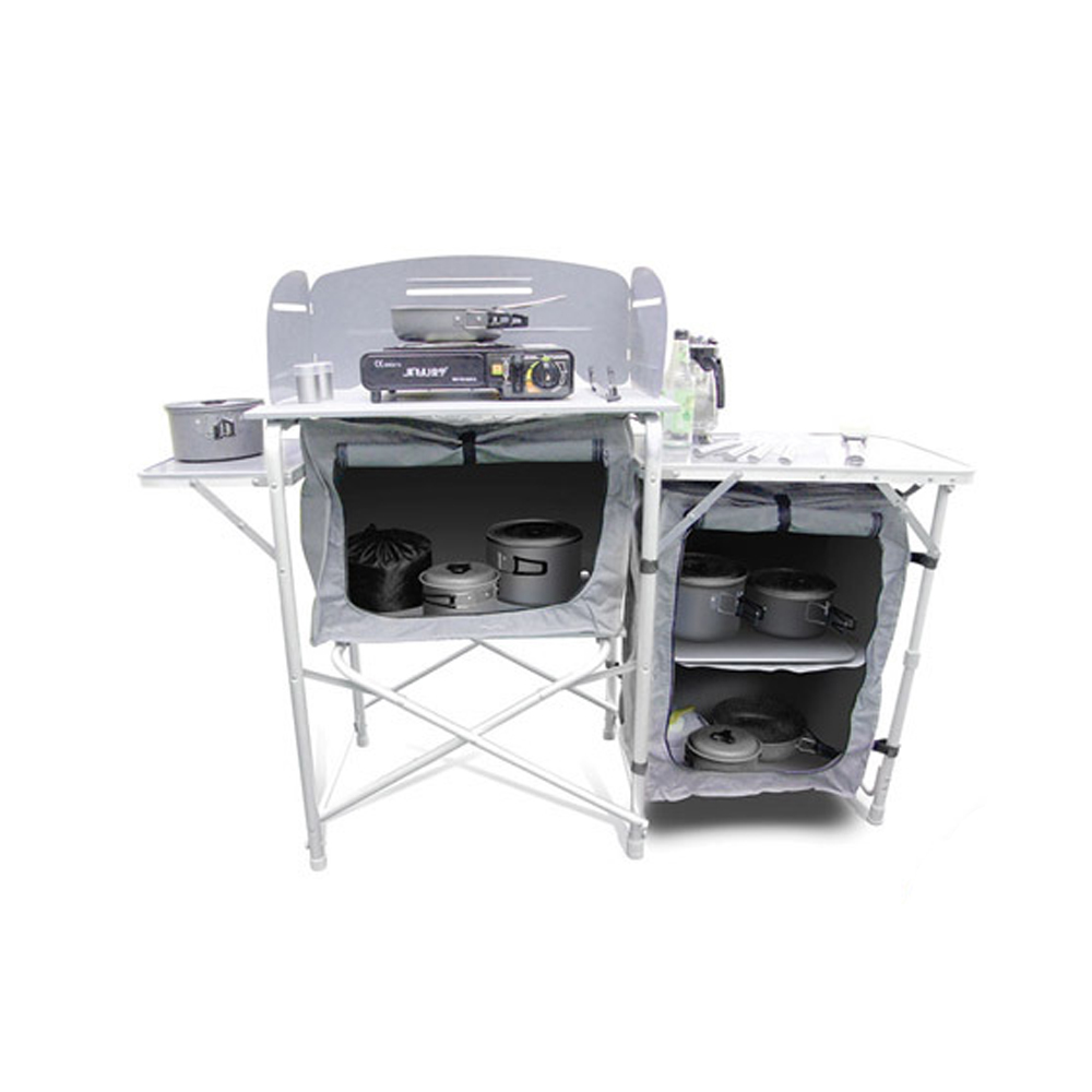 Portable Foldable Camping Kitchen Table For Camping Gear - Buy ...