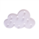 Decorative LED Cloud Night Lights Lamps Marquee Signs Light for Baby Nursery Decorations Gifts for Children