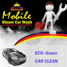 2015 CE two guns outdoor mobile diesel coin operated car wash
