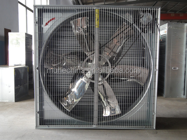 unassembled exhaust fan components with CE certification