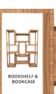 Nuo Bookcase no 34B Home Furniture Wooden Book Shelf Rack Modern Wooden