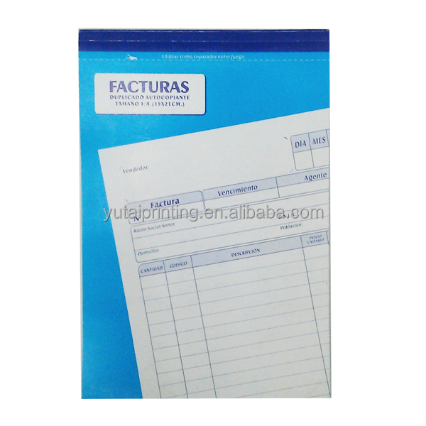 carbon paper receipt book printing alibaba in spanish express