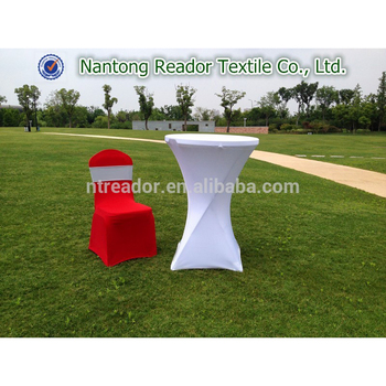 White Wholesale Spandex Elastic Cocktail Table Spandex Table Covers For Wedding Decoration Buy White Cocktail Table Spandex Covers Wedding