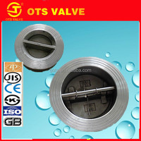 CV-DS006 4 inch stainless steel wafer type air check valve