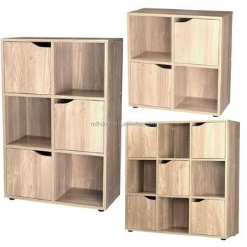 Sonoma Eiken 4 6 9 Houten Kubus Opslag Unit Display Planken Kast Deuren Boekenkast Rekken Buy Boekenkastboekenplankhouten Boekenkast Product On