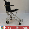 standard chromed economy wheelchair for disabled