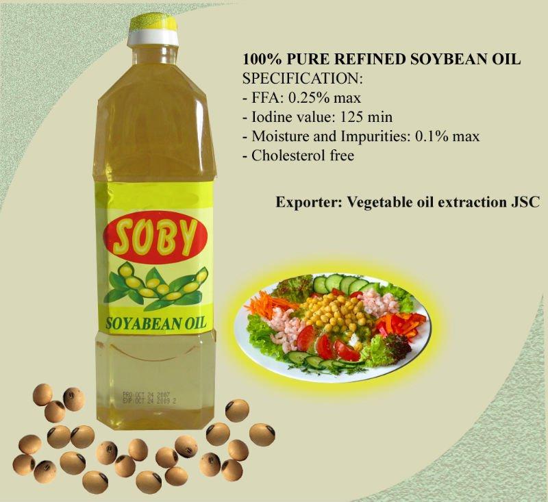 Rbd Soya Bean Oil