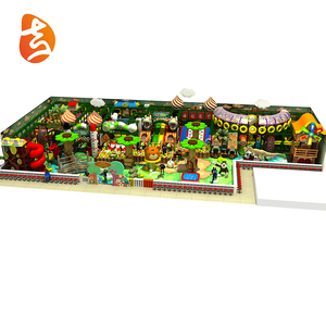 Entertainment forest style kids toy indoor playground equipment