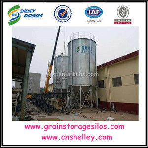 5 tons Grain Storage Small Steel Silo For Sale
