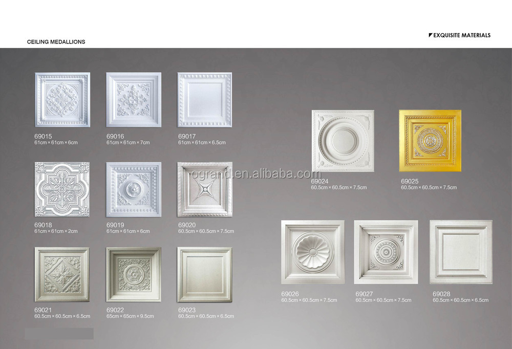 si as htm product guangzhou ceilings categories square guang decorative pu pdtl medallions auuan gt ceiling china