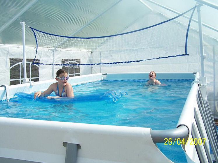 2015us high quality 975 488 132cm gray rectangular tube - Largest above ground swimming pool ...