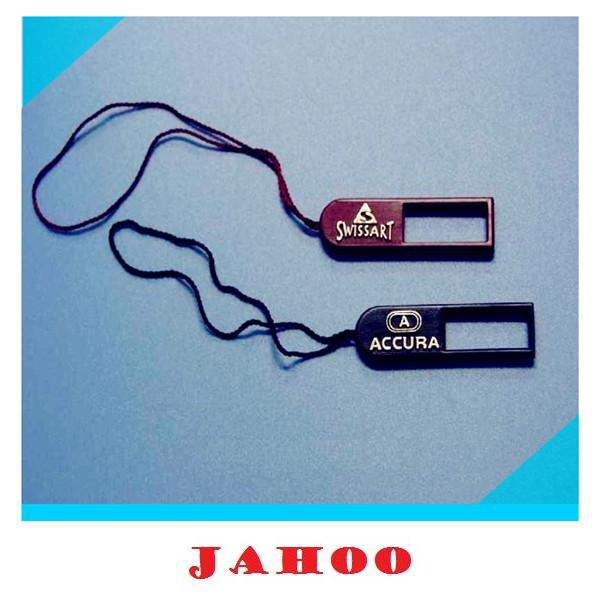 Garment Tags Plastic Hang Tag Cord Seal For Clothing Bags