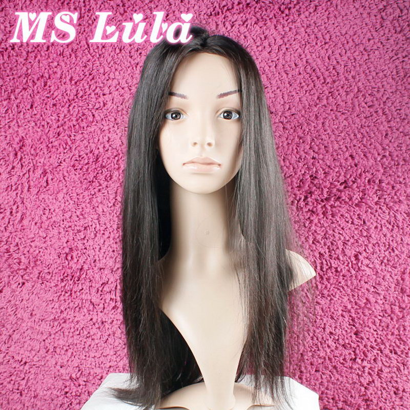 Beautiful Top-quality Lace Front Human Hair Wig Made of 100% Raw Virgin Brazilian Hair Materials