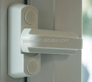 Extra Security Locks for uPVC Window & Doors - White Surepromise Home Security Sashes Jammers Locks For UPVC Window & Door Locks