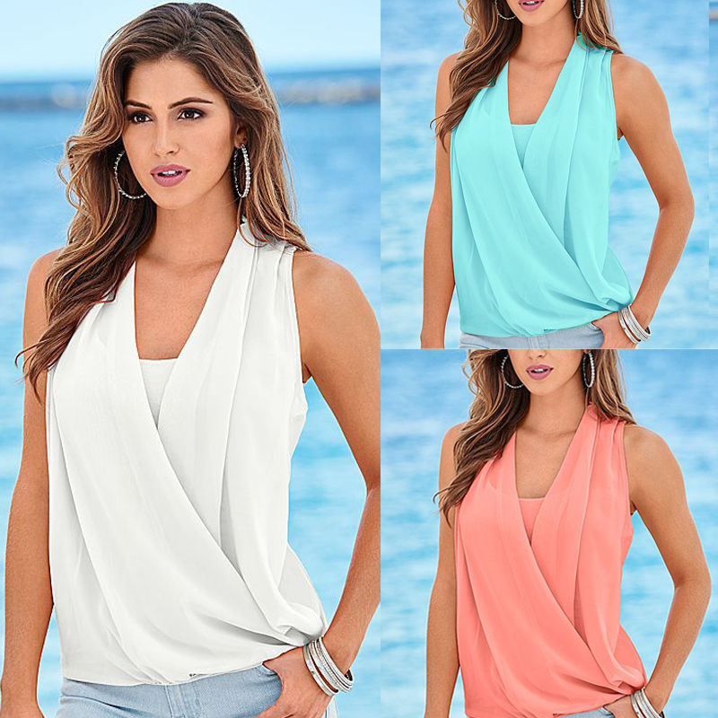 67ac769b79a306 Casual And Styles Chiffon Blouse Tops Latest Shirt Designs For Women ...