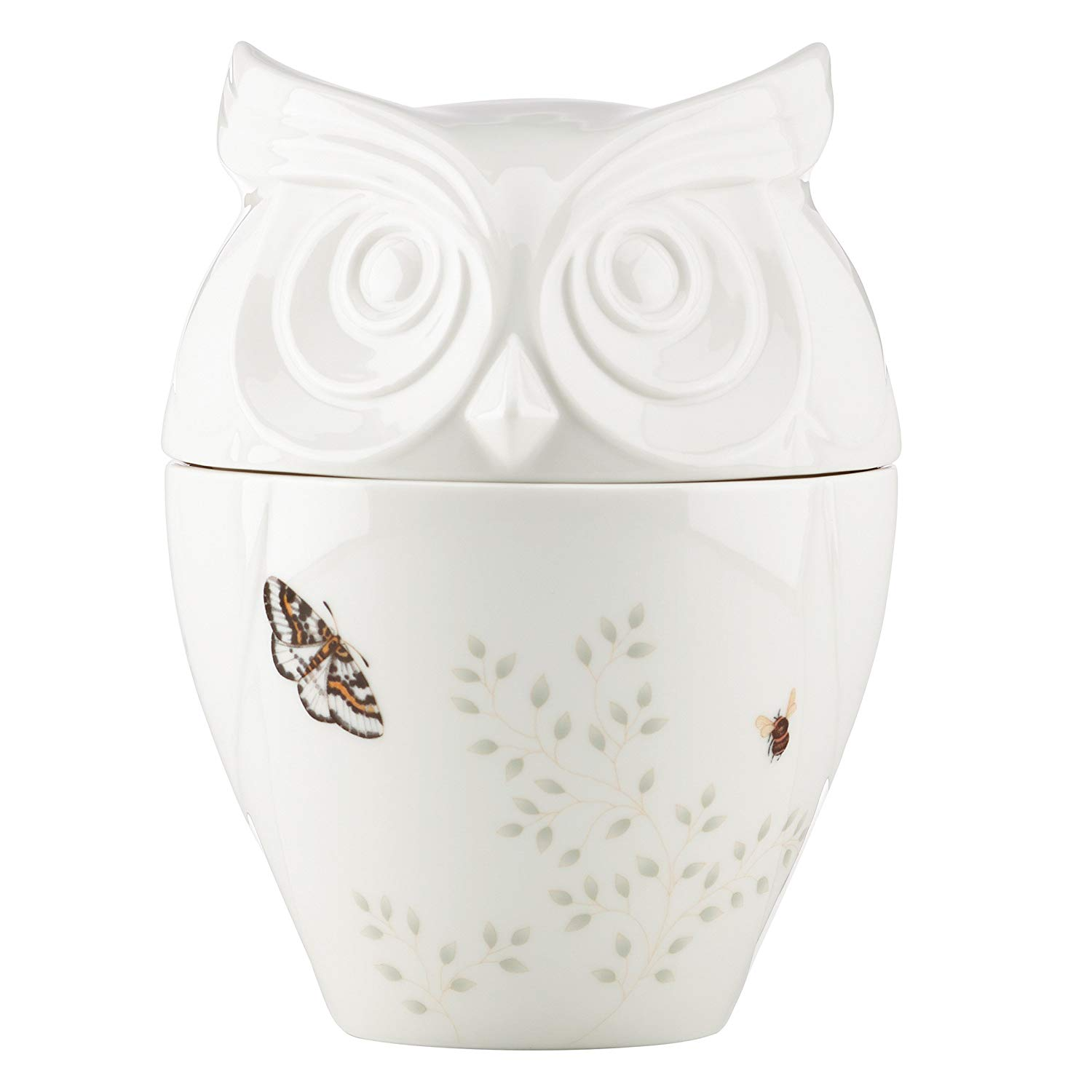 Get Quotations Erfly Meadow Owl Cookie Jar Decorative