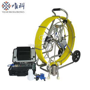 pan and tilt cctv video manhole camera sewer pipe inspection system for sale V8-3288PT-1