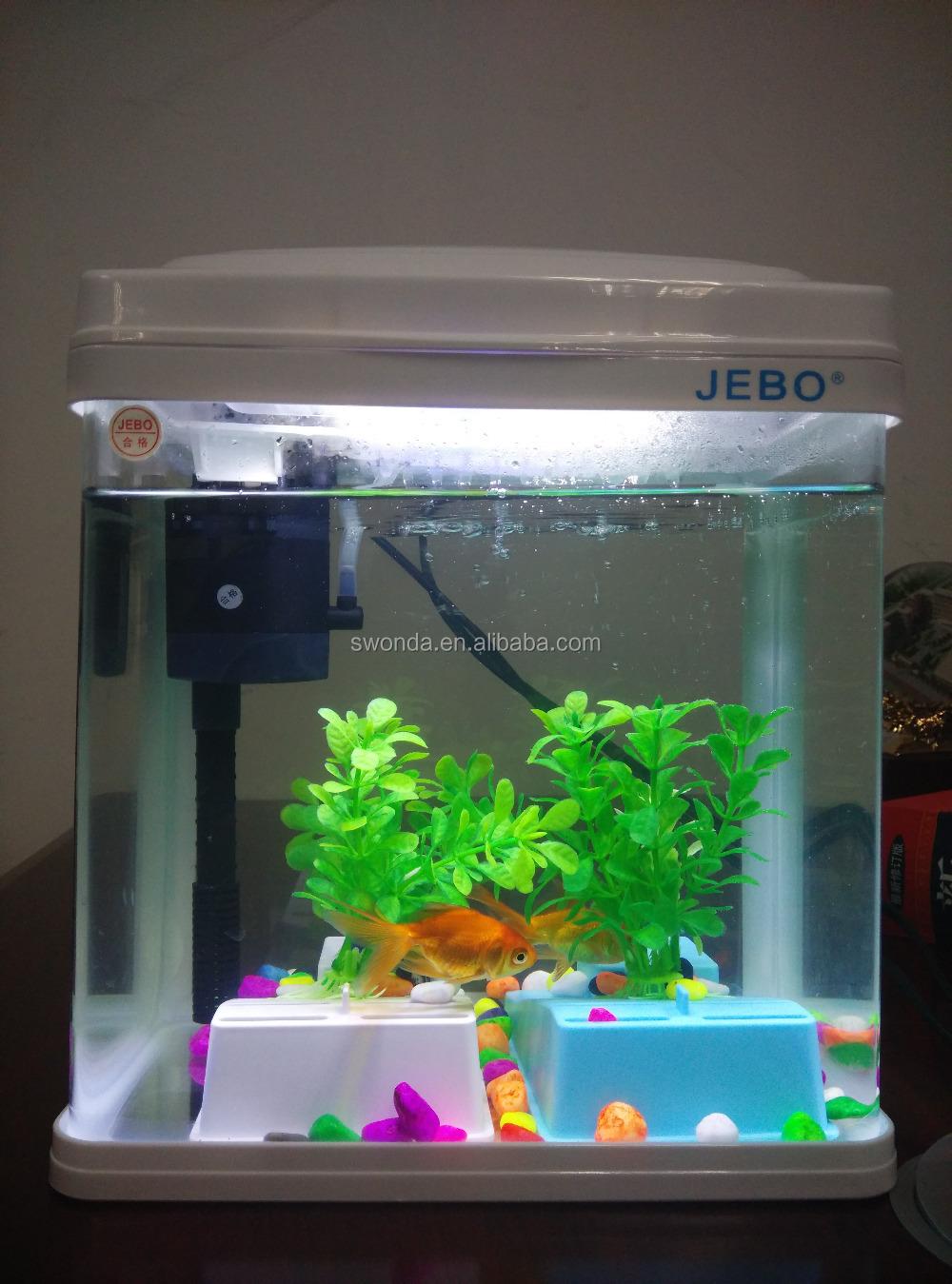 Pocket-size Hot Sale Indoor Marine Fish Tank Aquarium