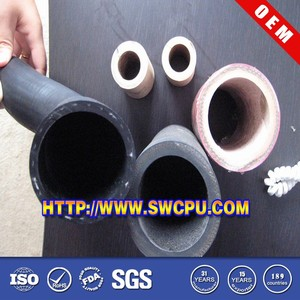 Nonstandard heat shrinkable silicone rubber tube in black color